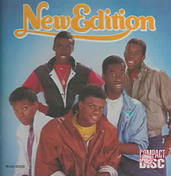 NEW EDITION BY NEW EDITION (CD)